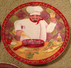 Bon Appetit White Wine Glass Jennifer Brinley Design French Chef Cook Plate