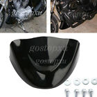 Front Black Chin Spoiler Air Dam Fairing Windshield For Harley 06-Up Dyn