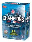 2016 Chicago Cubs Topps World Series Champions Limited Edition Box Set 1Day Ship