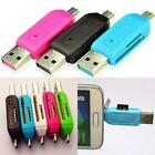 2in1 Micro USB 20 OTG Adapter SD TF Card Reader for Android Phone Samsung EF