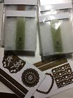 Anna Griffin Paisley Patterns  Lovely Impressions Embossing Folders  Dies NLA
