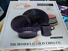 Homer Laughlin Fiesta Plum 4 piece Setting in Box