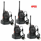 4 x Baofeng BF-888S Long Range Walkie Talkie UHF 400-470MHZ 2-Way Radio 16CH