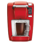Single Coffee Maker Red Mini Plus Brewing System Compact Size Drip Tray