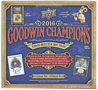2016 UPPER DECK GOODWIN CHAMPIONS HOBBY BOX- FREE SHIPPING