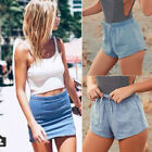 Fashion Womens Vintage Slim High Waisted Jeans Denim Shorts Summer Hot Pants