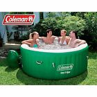 Coleman Lay-Z Massage Portable Spa for 4-6 People Pure Hot Tub Outdoor Patio New