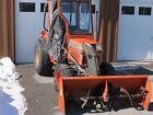 kubota 1997 B2150 HST 24 HP Diesel with snowblower and 60 mower deck