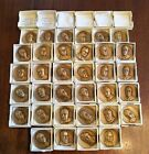 1960s Presidential Bronze Medals Coin Lot Medallic Art Co W Wilson Roosevelt
