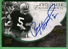 2008 Exquisite Collection PAUL HORNUNG AUTOGRAPH Packers 05 30