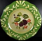 Certified International La Toscana Salad Plate Plums Pamela Gladding