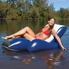 Floating Pool Recliner Adult Kids Inflatable Lounge Chair Swimming Water Fun New