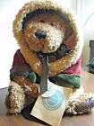 BOYD CHRISTMAS BEAR  With Velvet Robe From Bear Necessities Collection