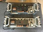 2x Siemens Klangfilm Kl. V 408a EL 34 Tube Amplifier Plug And Play KLV408a
