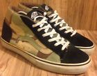 RAREVANS MID OLD SKOOL SYNDICATE SZ 105 PAST JUNGLE CAMO NAVY