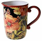 Certified International Watercolor Poppies Pitcher
