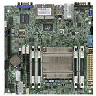 Supermicro Mini ITX A1SRI 2558F O Quad Core DDR3 1333 MHz Motherboard and CPU