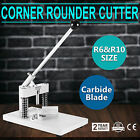Manual Paper Corner Rounder Cutter R6  R10 Card Photo Cutting Stack Heavy Duty