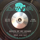 CHICANO LATIN SWEET SOUL 45 Rene  Ray Queen of my Heart Do What You Feel DONNA