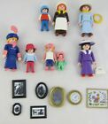 Playmobil Victorian Mansion Parts Lot of People Mother Children Baby Frames
