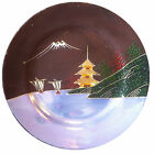 Japanese Satsuma style moriage Dragonware Cherry blossom 1920s Plate lustreware