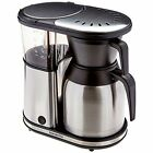 Coffee Brewer: 8-Cup Carafe Stainless Steel