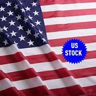 USA 4x6 FT US American Polyester Flag Stars Brass Grommets IN STOCK