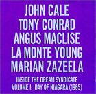 JOHN CALE & TONY CONRAD - Inside the Dream Syndicate 1: Day of Niagara 1965 - CD