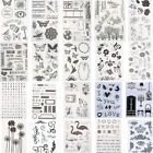 New Silicone Clear Rubber Stamps Seal Scrapbooking Album Card Making Decor Tool