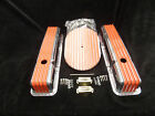 S B CHEVY TALL ORANGE FIN VAL COVER FIN BREATHER KIT