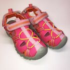 JumpingJacks Wave Hot Pink Water Friendly Sport Sandal for Wide Width Toddlers