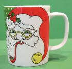 Fitz & Floyd Variations Santa Set of 4 Mugs