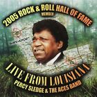 PERCY SLEDGE & THE ACES BAND - Live: From Louisiana - CD ** Brand New **