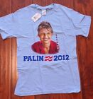 Pre Owned Novelty Political Humorous Small T Shirt Sarah Palin 2012 Collectible