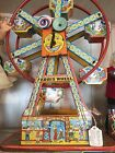 Chein TIn Litho Windup Hercules Ferris Wheel
