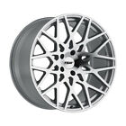 TSW Vale 17X8 5x100 Offset 35 Silver/Mirror Cut Face (Qty of 1)