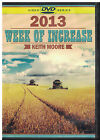 keith moore week of increase 2013 inspirational Christian religious 5 DVD set