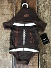 NIKE OKLAHOMA STATE COWBOYS BEANIE BODY SUIT COMBO BABY 6 - 9 MONTHS NEW