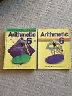 A Beka Book 6th Grade Arithmetic Work text And Test And Speed Drills