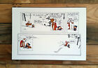 Calvin and Hobbes Magical World - Last Strip Ever Printed - Mounted 8 x 10