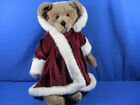 RARE BOYD'S BEAR ARCHIVE COLLECTION CHRISTMAS FUR ROBE LIMITED EDITION 16