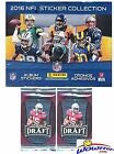 2016 Panini NFL Football Stickers MASSIVE 50 Pack Factory Sealed Box with 350...