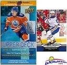 2016 17 Upper Deck Series 1 NHL Hockey EXCLUSIVE Factory Sealed Blaster Box w...
