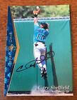 1995 UPPER DECK SP AUTHENTIC BUYBACK AUTO GARY SHEFFIELD