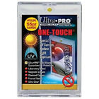100 ULTRA PRO One Touch Magnetic Holders 55pt UV Gold Magnet 55 point