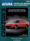 Chilton 10302 Repair Manual Acura Coupes and Sedans, 1994 - 2000