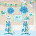 Baby Boy Blue Decorating Kit for Baby Shower 10 Piece Set for Its a Boy
