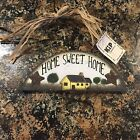 Home Sweet Home Rustic Wood Sign Plaque Wall Hanging Decoration