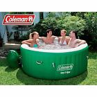 Inflatable HOT TUB SPA Coleman 6 Person Portable Jacuzzi Heated Bubble Massage