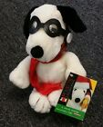 Applause Peanuts Collection Kohl's Flying Ace Snoopy Mini Bean Bag-Beanie